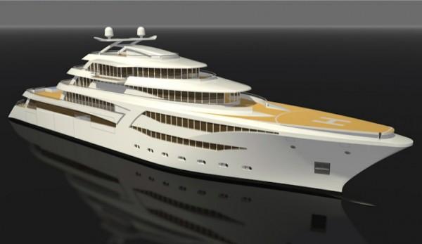 rolls royce yacht