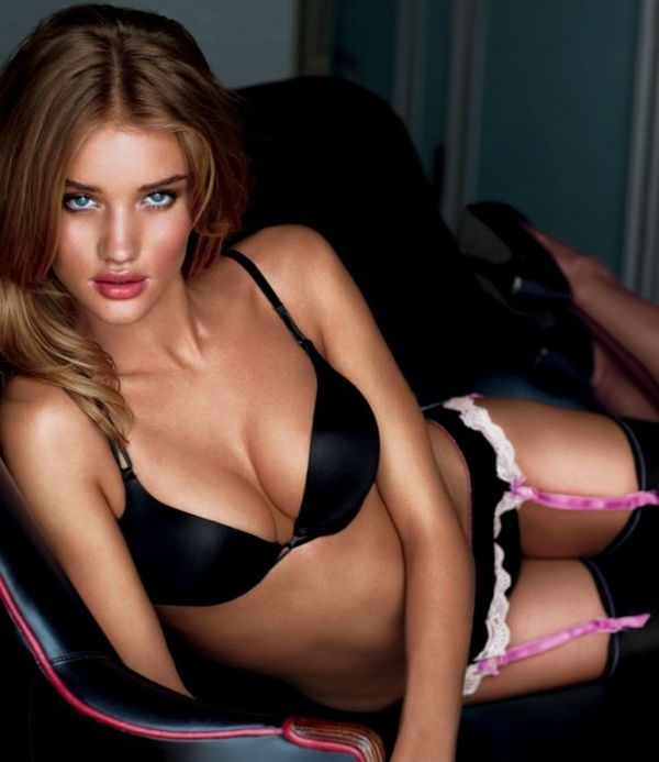 rosie huntington victoria's secret angel
