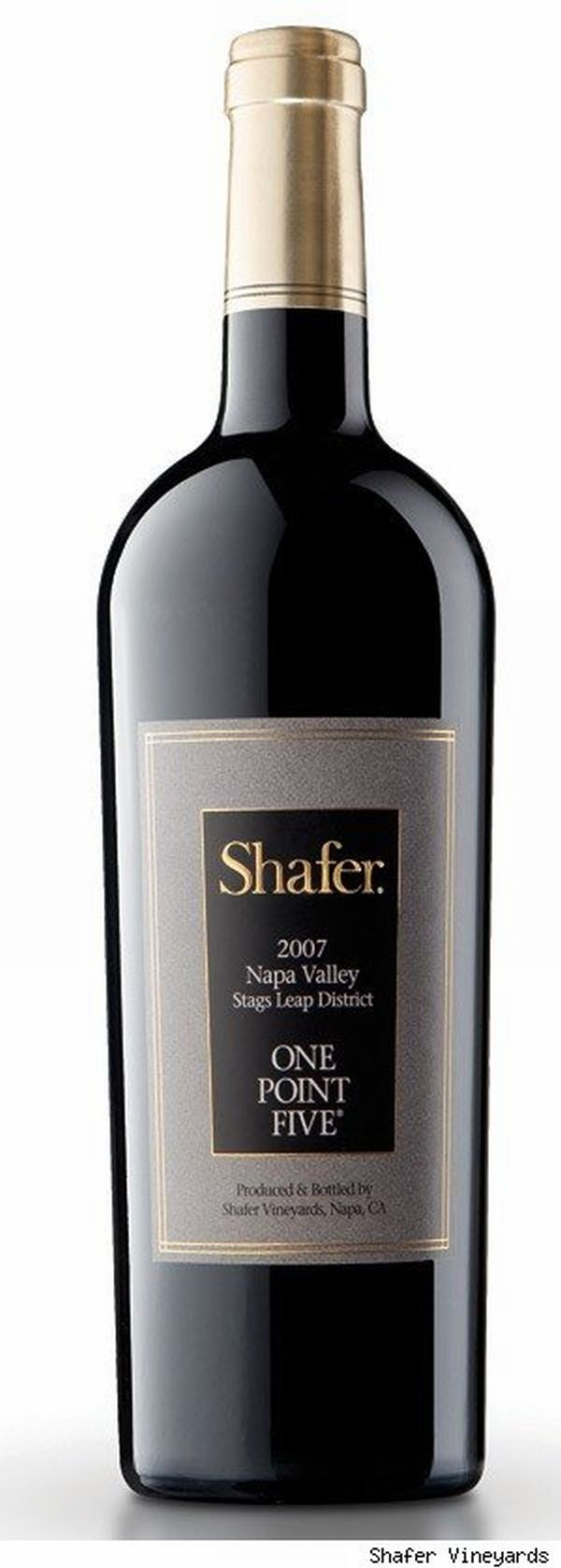 shafer wine bottle