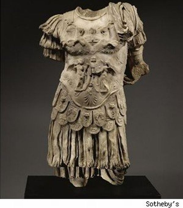 sothebys marble torso