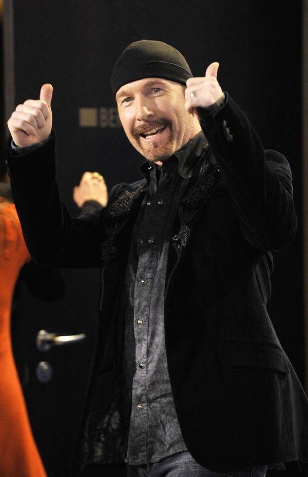 David Evans U2 guitarist