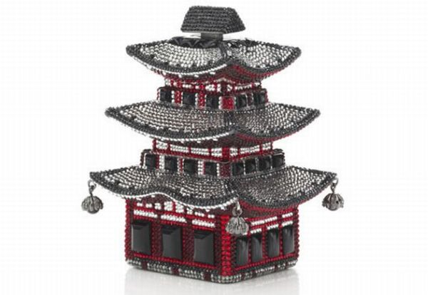 Pagoda judith leiber1 This time a Pagoda shaped bag from Judith Leiber