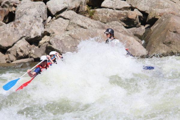 lake summersville whitewater rafting