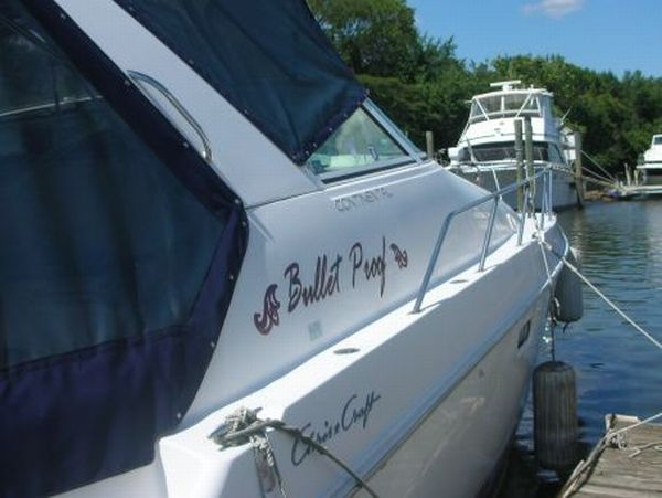 bulletproof yacht