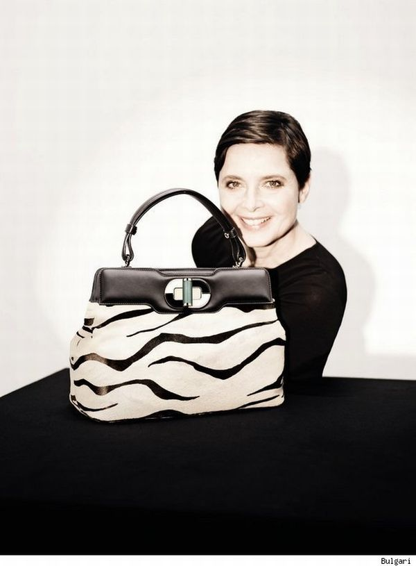 isabella rossellini bulgari handbags