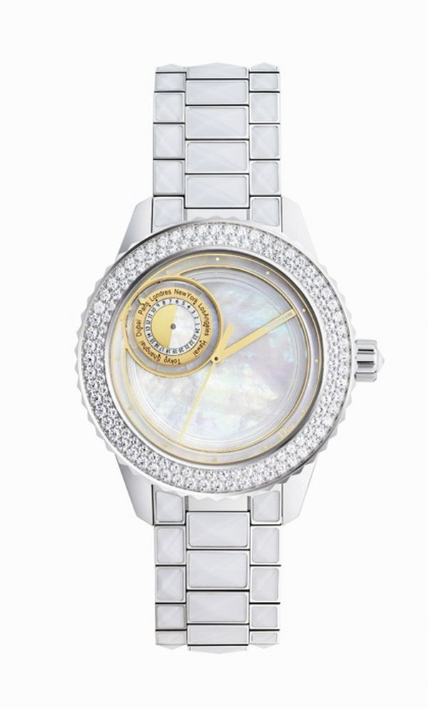 dior christal 8 11 Dior bring out Christal 8 watches especially dedicated to the lucky number Eight