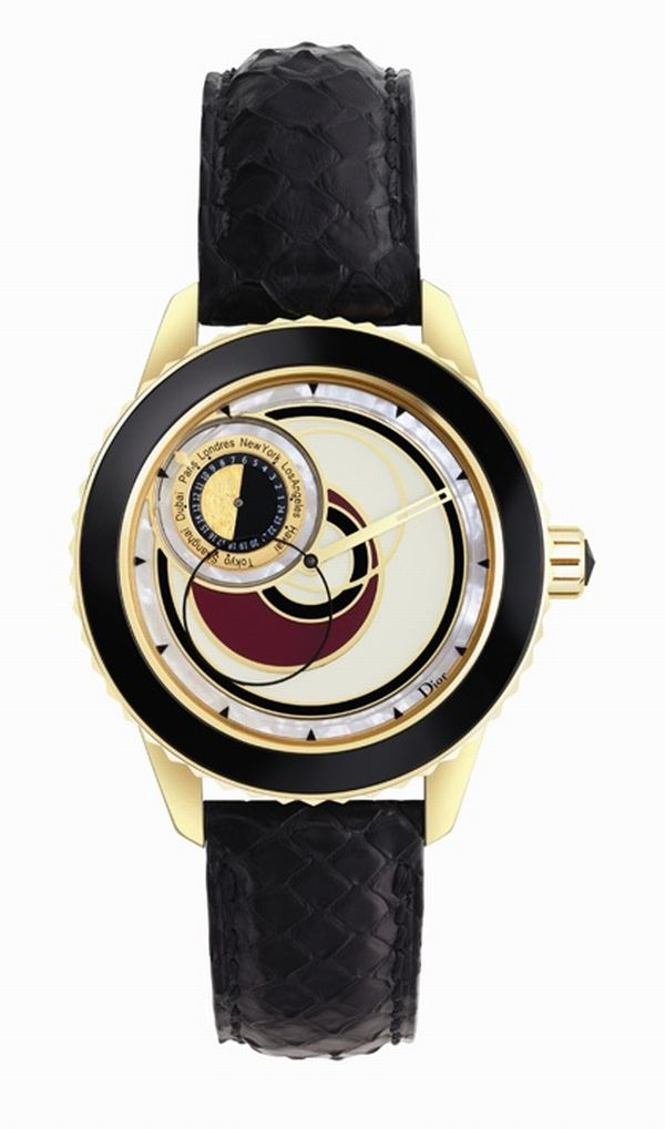 dior christal 8 2 Dior bring out Christal 8 watches especially dedicated to the lucky number Eight