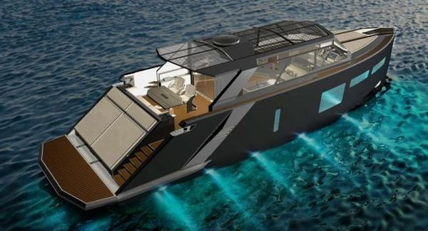 magellan space luxury yacht Magellan Space Luxury Yacht Is Not Only a Stunner, but also Energy Efficient!