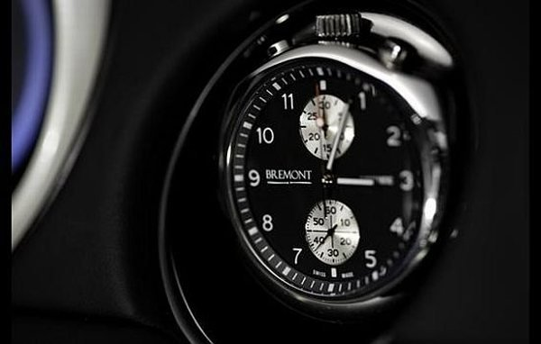 The Car Clock is in the honor of 75th anniversary of the British Jaguar car