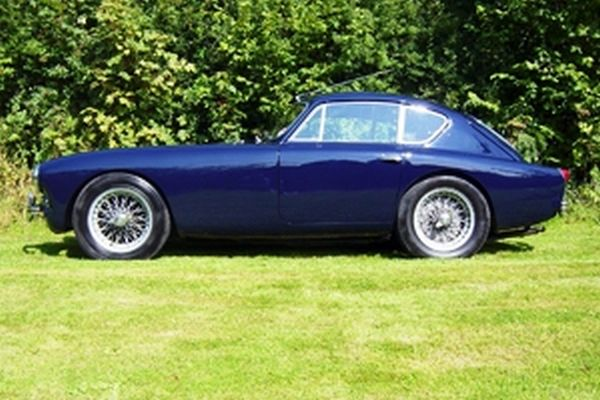 ian fleming 1962 AC Aceca Coupe car