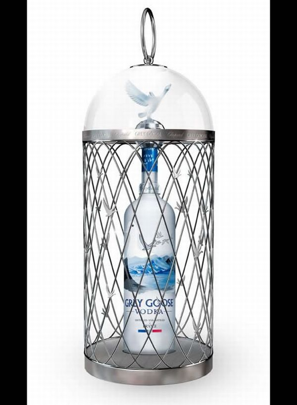 Magnum Grey Goose Vodka by Chopard 1 Grey Goose Vodka Gets a Royal Makeover by Chopard