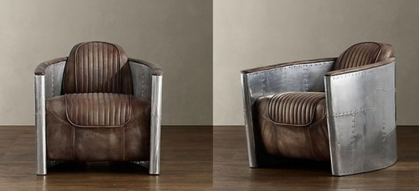 zoom gillies armchair aviator chair