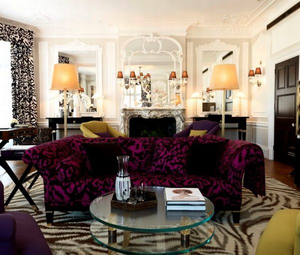 Diane von Furstenberg designs at Claridges