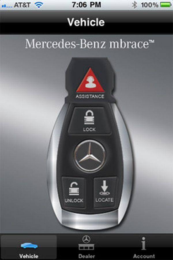 mbrace mercedes benz app
