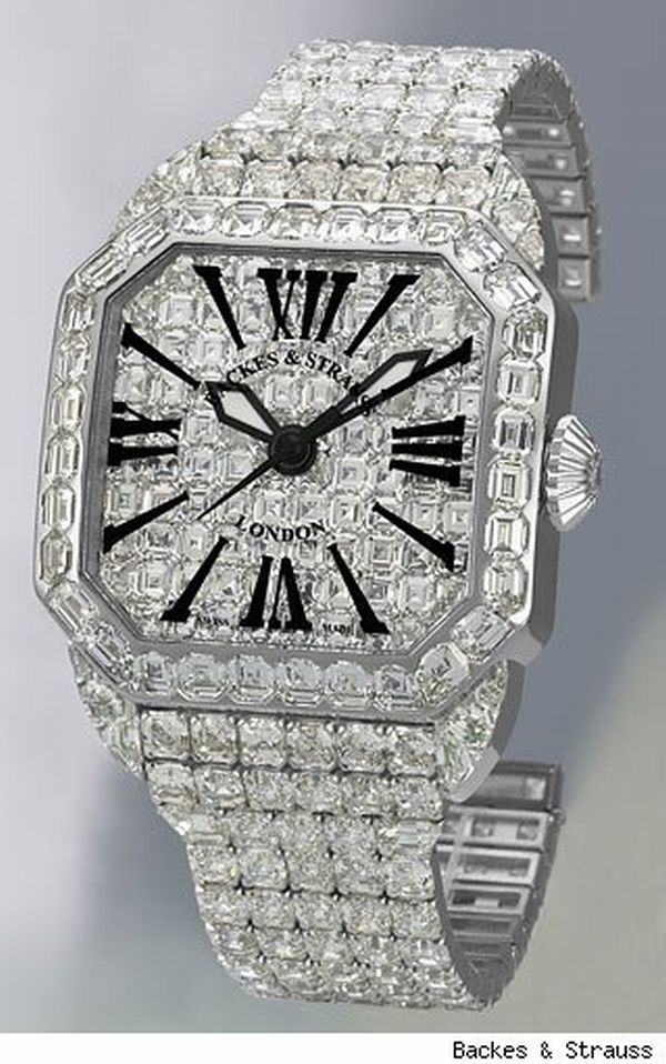 Backes & strauss diamond watch