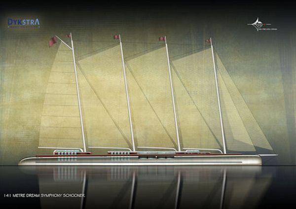 Dream-Symphony yacht