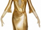 Gold-Draped-Metal-Mesh-Dress Versace