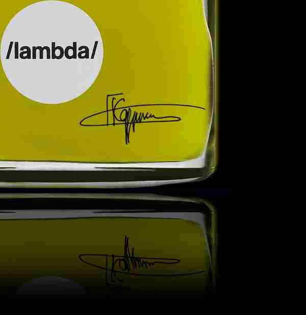 bespoke lambda bottle signature