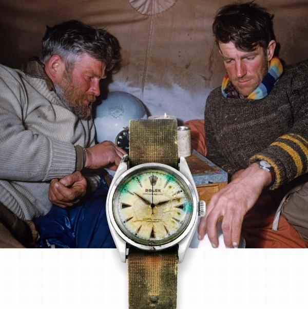 edmund hilary rolex watch