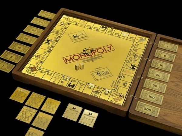 gold-jeweled-monopoly board
