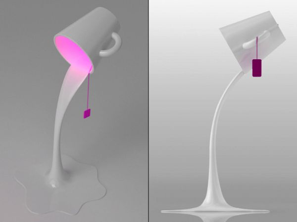 pouring_light lamp