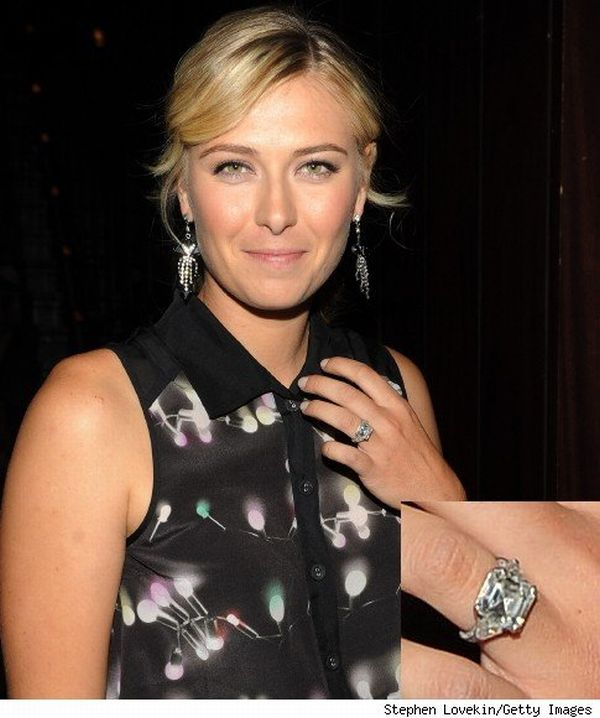 maria sharapova engagement ring