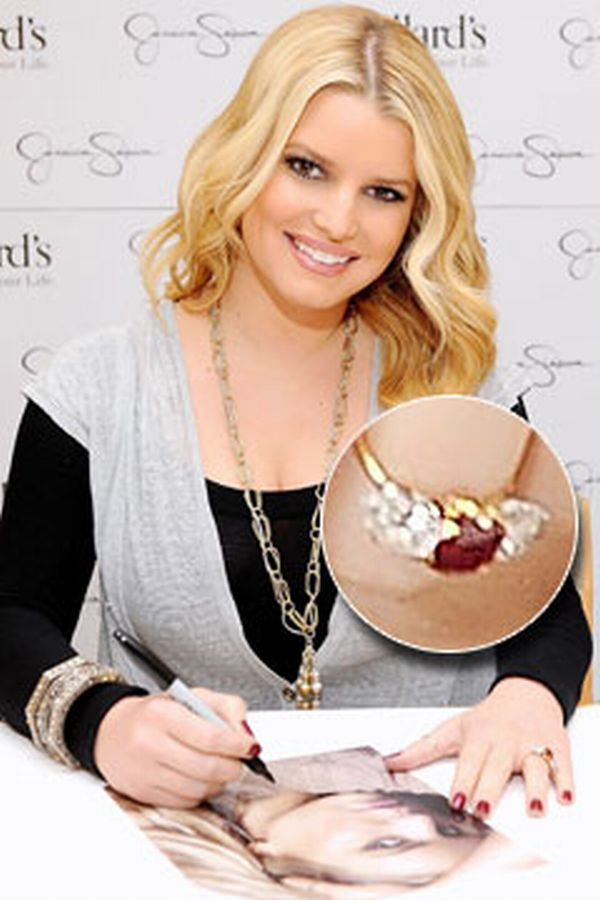 jessica simpson engagement ring
