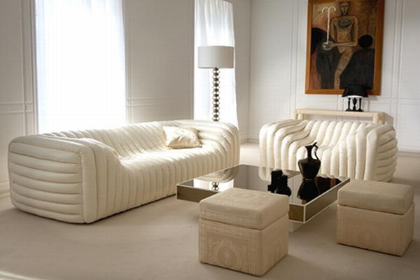 Versace Bubble Sofa Raises Eyebrows with Its ...