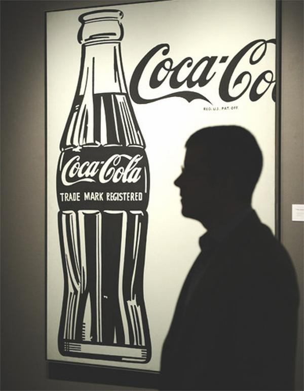 warhol coke painting