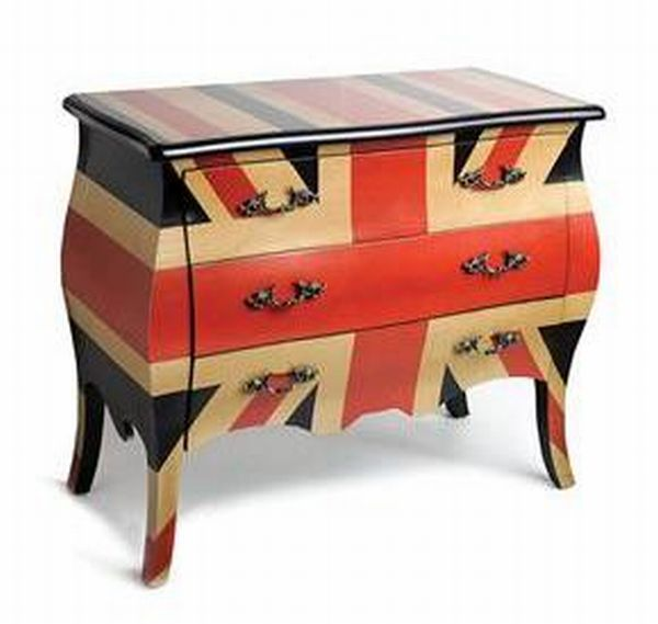 CLC Living Union Jack Chest of Drawers CLC Living Designs Featured on Achica Website this Week at Reduced Prices