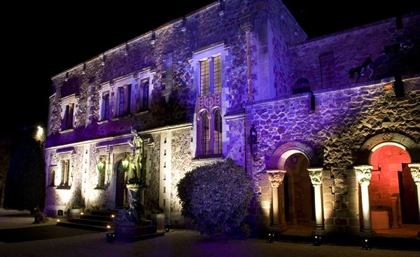 Chateau La Napoule where Bally Hosted Cocktail party