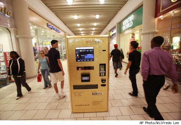 Gold to Go Gold Vending Machine