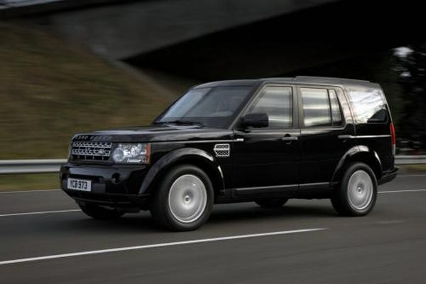 Land Rover Discovery 4 Armored Vehicle