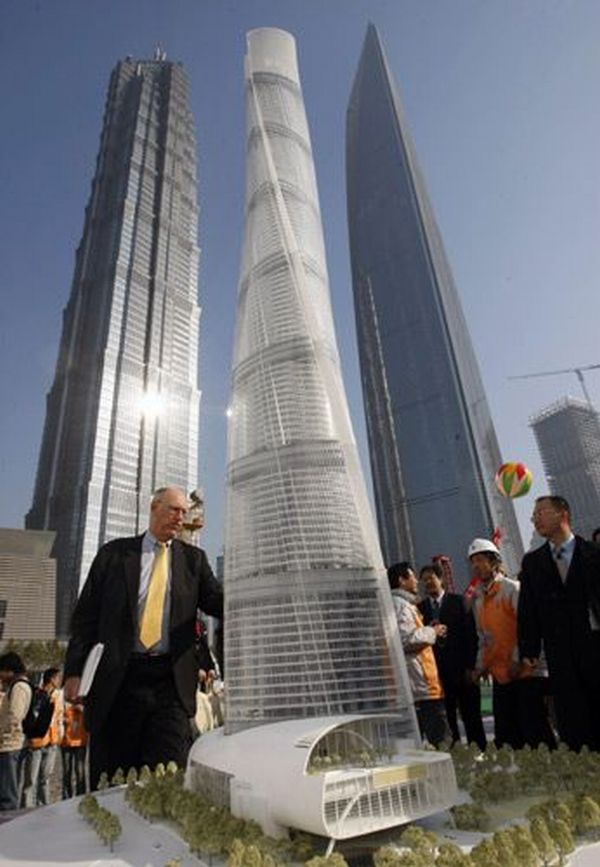 Model of Shanghai Tower