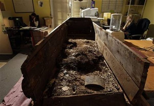 Oswald's Coffin