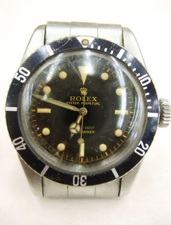 Rare Rolex Submarine Watch Auctioned for $66,100 at eBay