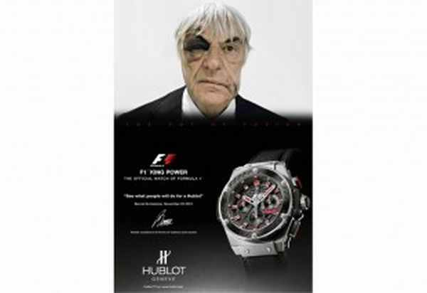 Ecclestone Comes Out of a Mugging Incident with His Sense of Humor Intact