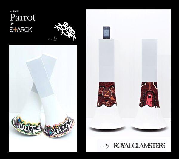 Zikmu Parrot by Starck