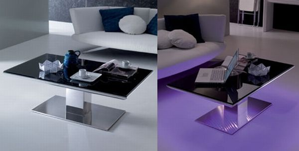 LED Lighted Tables by Ozzio for the Modern Homes  Elite