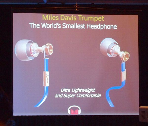 worlds smallest headphone