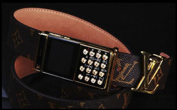 louis vuitton cellphone buckle