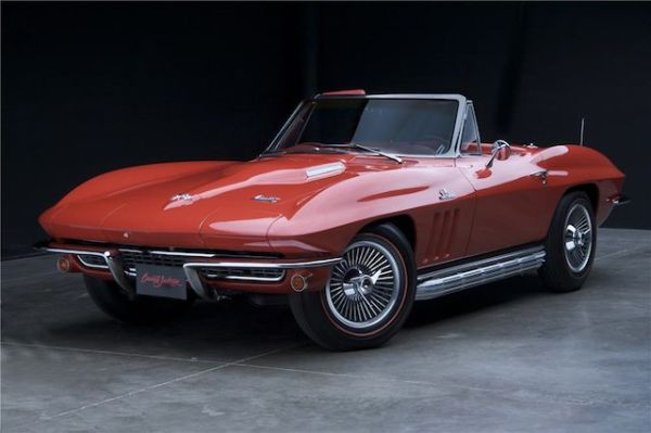 Chevrolet-Corvette at the auctions