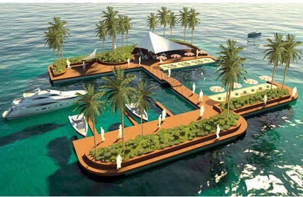 Floating Pleasure Island