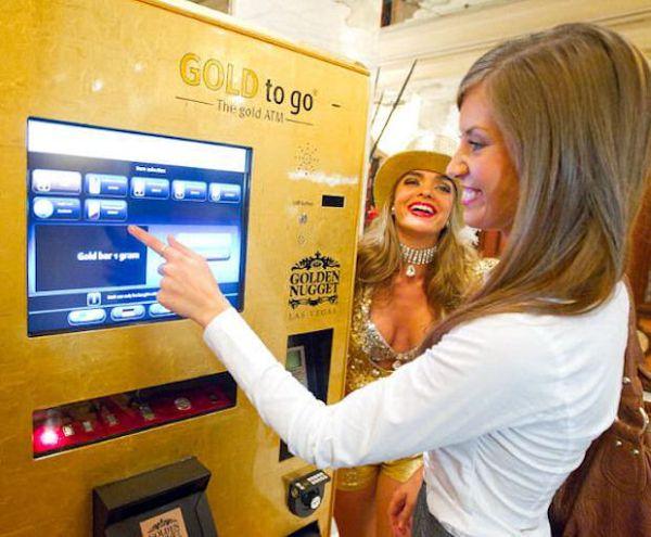 gold to go machine finally comes to casino la la land of las vegas elite choice. Black Bedroom Furniture Sets. Home Design Ideas