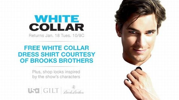 whitecollar Gilt Groupe Partners with the USA Network for the First Time to Celebrate the Return of White Collar