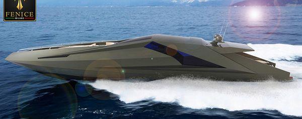 Lambo-yacht