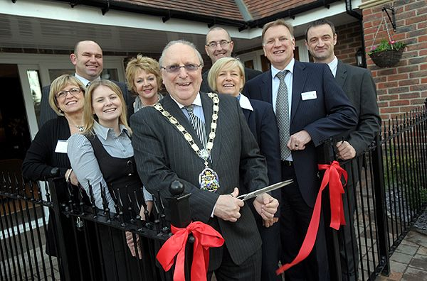Opening Ceremony at Fairways David Wilson Homes Opens New Scheme of Ten Luxury Homes in Camberley