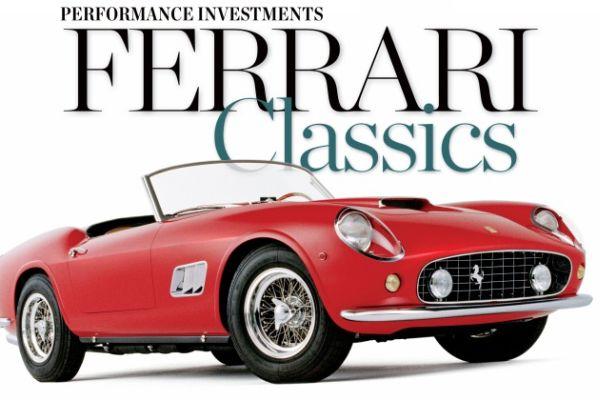 classic vintage ferrari