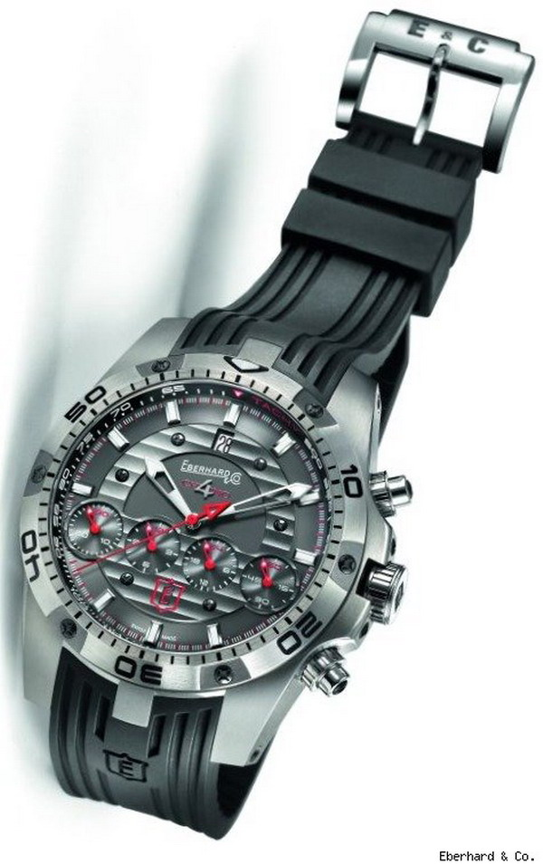 eberhardwatch Eberhard & Co. To Produce New Chrono 4 Geant Titanium Limited Edition