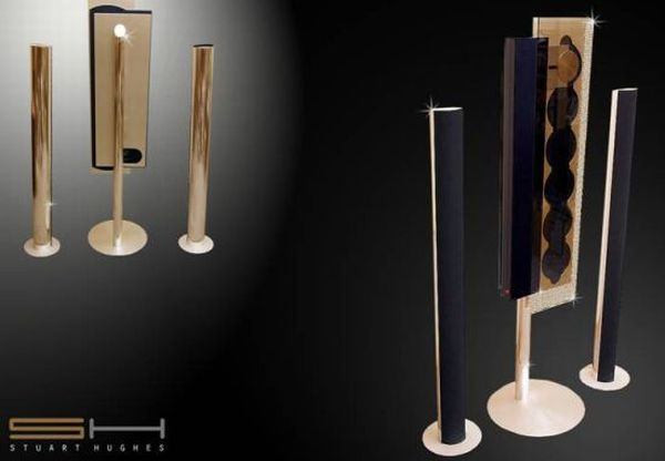Bang Olufsen Beosound 24ct Gold Diamond Edition 2010 Elite Round Up: 70 World's Most Expensive Offerings from Luxury Brands